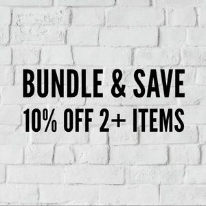 ✨BUNDLE & SAVE✨